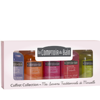 Coffret Collection Mes Savons Traditionnels de Marseille Le Comptoir du Bain