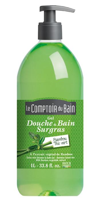 Gel Douche & Bain Bambou - Thé Vert