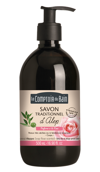 Savon Traditionnel d'Alep - Rose