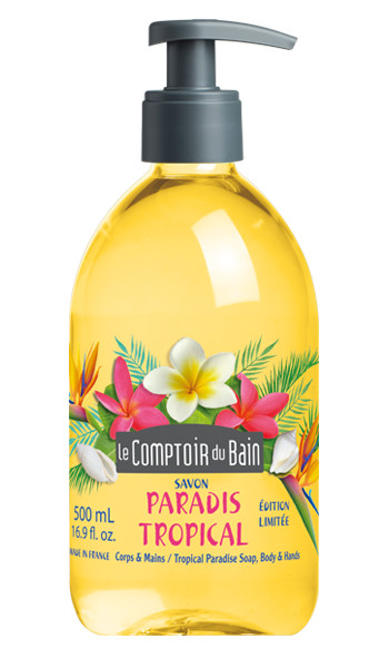 Savon Paradis Tropical 500 mL- édition collector