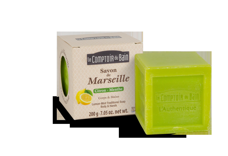 Savon de Marseille Citron-Menthe