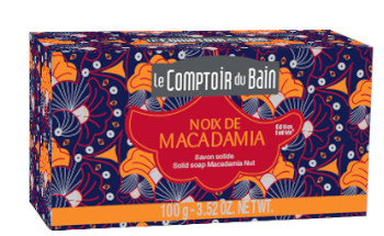 Savon solide Noix de Macadamia