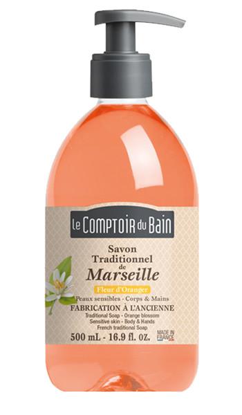 Savon traditionnel de Marseille Fleur d'oranger