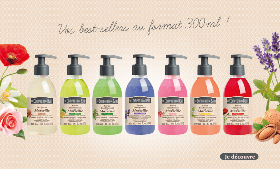 Vos best-sellers au format 300 ml !