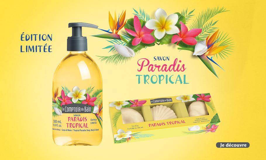 Edition limitée Savon Paradis Tropical
